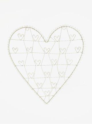 Stojan na fotky v tvare srdca Sass & Belle