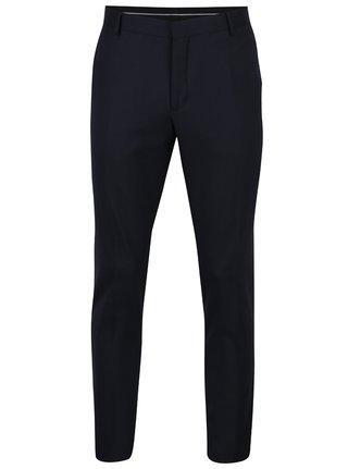 Tmavě modré oblekové kalhoty Selected Homme Done-Tux