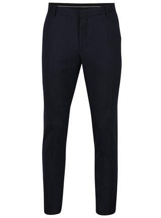 Tmavomodré oblekové nohavice Selected Homme Done-Tux