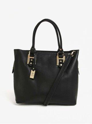 Čierny shopper s crossbody kabelkou 2v1 Bessie London