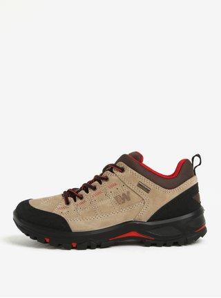 Pantofi sport bej impermeabili din piele pentru femei  Weinbrenner