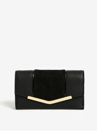 Čierna peňaženka s chlopňou Bessie London