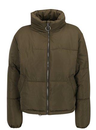 Khaki zimní prošívaná bunda TALLY WEiJL