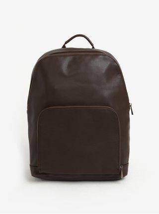 Tmavohnedý batoh s vreckom Bobby Black