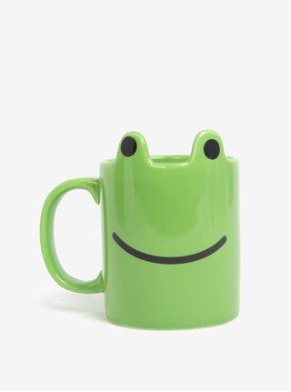Zelený hrnek ve tvaru žáby Gift Republic