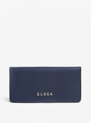 Modrá dámská kožená peněženka ELEGA Amina