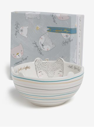 Bol ceramic cu ursuleti si cutie cadou -  Disaster