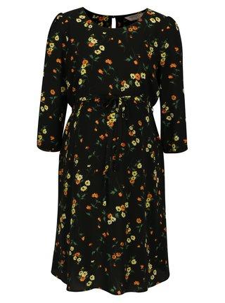Rochie neagra cu print floral pentru femei insarcinate - Dorothy Perkins Maternity