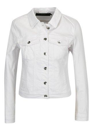 Bílá džínová bunda VERO MODA Hot Soya