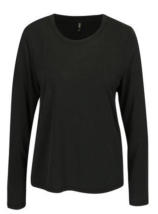 Čierne voľné tričko ONLY Venus