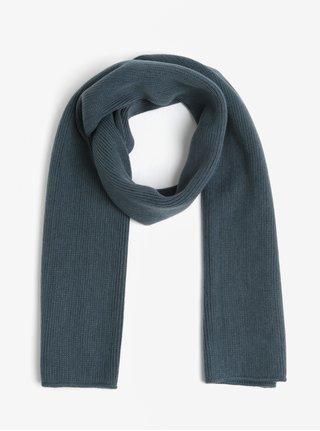 Fular bleumarin tricotat Burton Menswear London