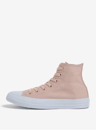 Světle růžové dámské kotníkové tenisky Converse Chuck Taylor All Star