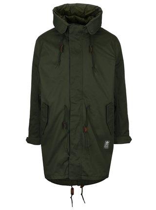 Geaca parka kaki cu jacheta subtire matlasata 2in1 pentru barbati -  adidas Originals