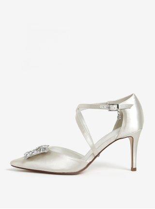Pantofi crem din satin Dune London Deanna