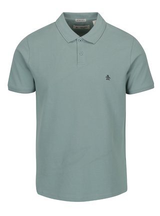 Tricou polo kaki - Original Penguin