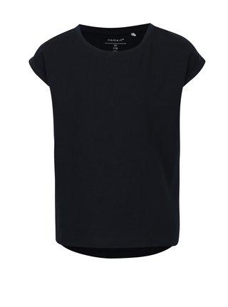 Tmavě modré holčičí tričko s krátkým rukávem name it Vilda