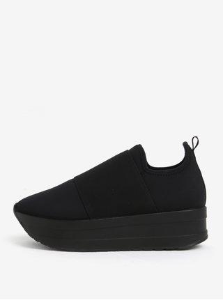 Pantofi sport negri cu platforma pentru femei - Vagabond Casey Sister