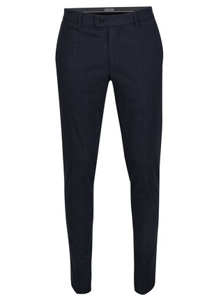 Tmavě modré skinny chino kalhoty Selected Homme Gale