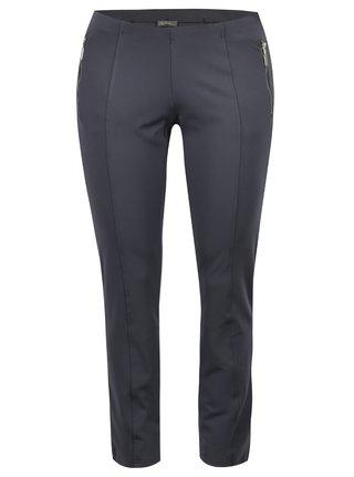 Šedé elastické kalhoty Ulla Popken