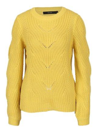 Žlutý svetr VERO MODA Wishi