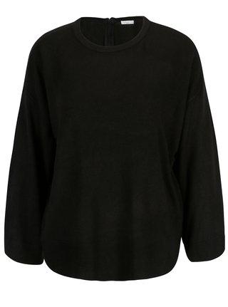 Pulover negru cu maneci 3/4 Jacqueline de Yong Pace