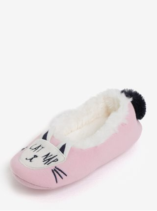 Ružové dievčenské papuče Tom Joule Dreama
