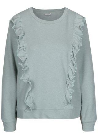 Bluza mentol cu volane - Jacqueline de Yong Lotte