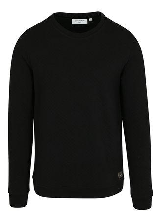 Bluza sport neagra cu aspect matlasat - Lindbergh