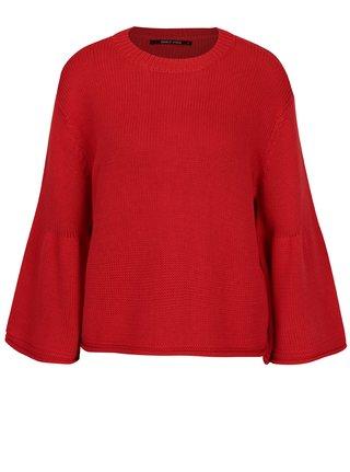 Červený volný crop svetr ONLY Sana