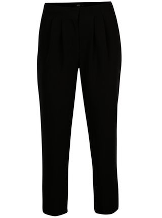 Pantaloni negri cu talie inalta si buzunare - ONLY Anya