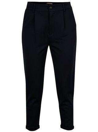 Pantaloni bleumarin cu talie inalta si buzunare - ONLY Ellie