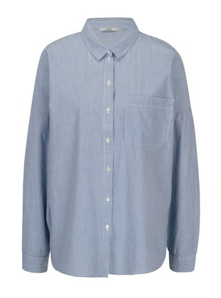 d2db988681a2 Bielo-modrá pruhovaná košeľa ONLY Joline