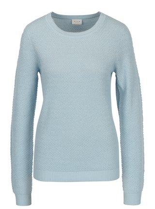 Pulover bleu cu model delicat VILA Chassa