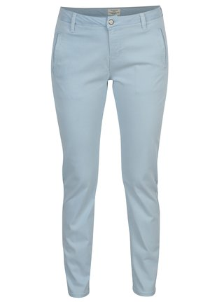 Pantaloni albastri chino Selected Femme Ingrid