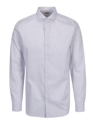 Světle růžová formální vzorovaná regular fit košile Selected Homme Two Sel