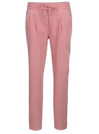 Pantaloni roz cu buzunare si talie elastica - VERO MODA Rory