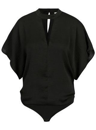 Body negru cu maneci liliac -  Noisy May Heidi