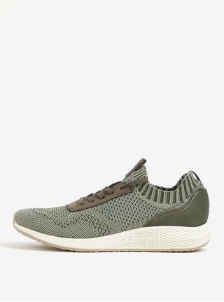 Zelené tenisky Tamaris
