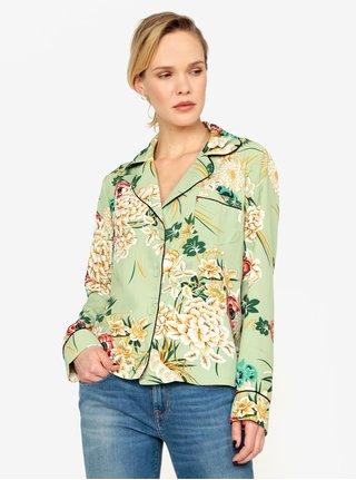 Bluza verde cu print foral - MISSGUIDED