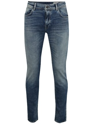 Blugi slim fit cu aspect prespalat - Selected Homme Leon