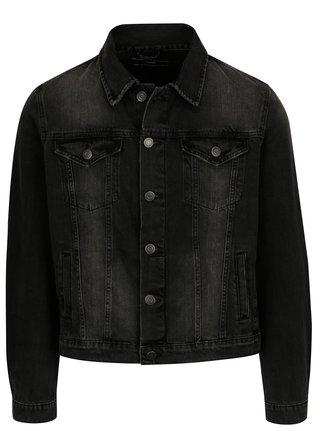 Tmavě šedá džínová bunda Selected Homme Jeffrey