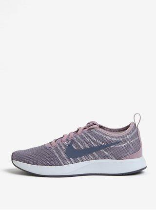Růžovo-šedé dámské tenisky Nike Dualtone Racer
