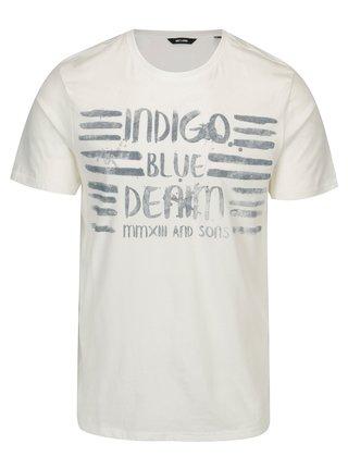 Krémové tričko s potlačou ONLY & SONS Baldur
