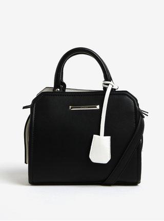 Krémovo-čierna kabelka Gionni Abbie