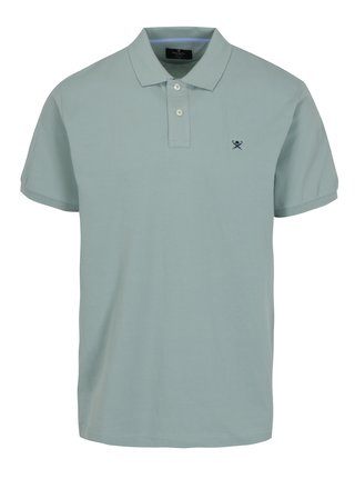 Tricou polo verde deschis -  Hackett London Classic