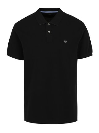 Tricou polo negru - Hackett London Classic