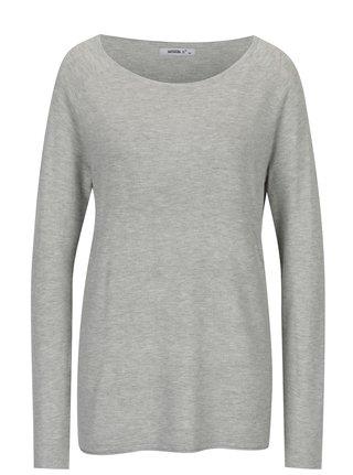 Šedý lehký dlouhý svetr Haily´s Stella