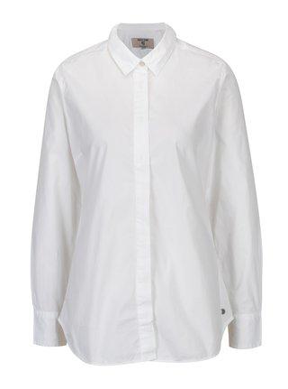 Biela dámska košeľa so skrytou légou Garcia Jeans
