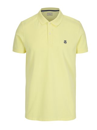 Tricou polo galben - Selected Homme Haro