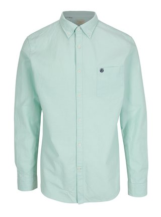 Camasa verde deschis regular fit - Selected Homme
